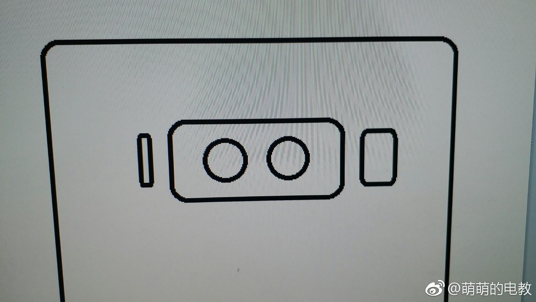 Galaxy Note 8 leaked render