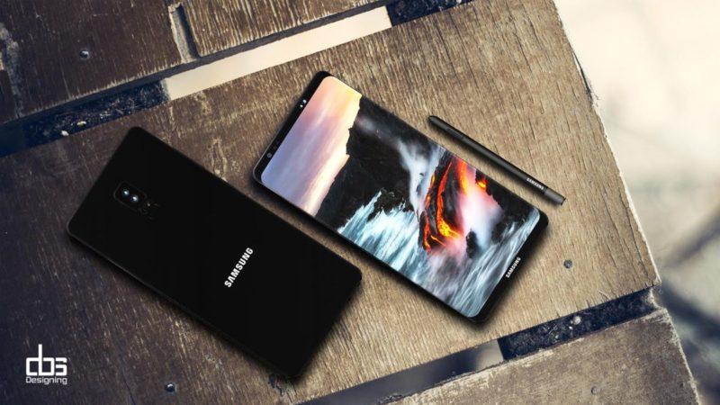 Galaxy Note 8 render leaked