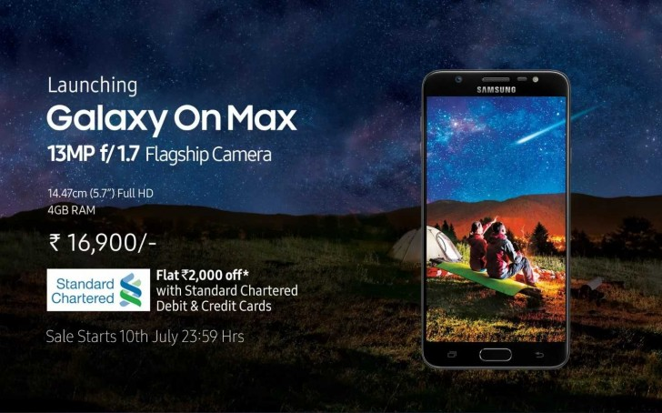 Samsung Galaxy On Max launched. Check out its specs, price, and availability