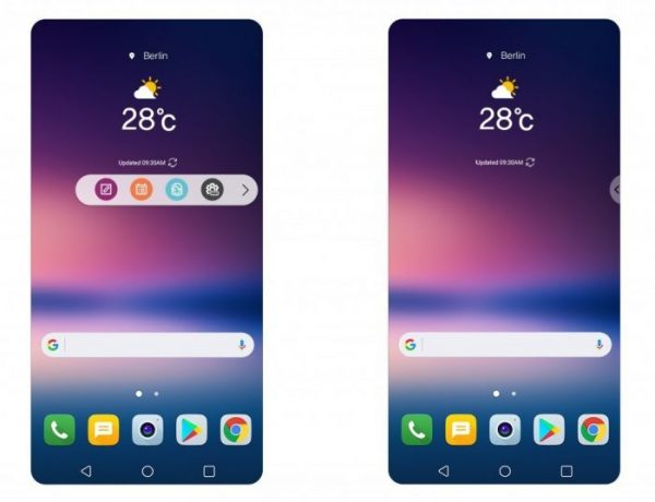 V30 and V30+ comes with new UX 6.0+ onboard