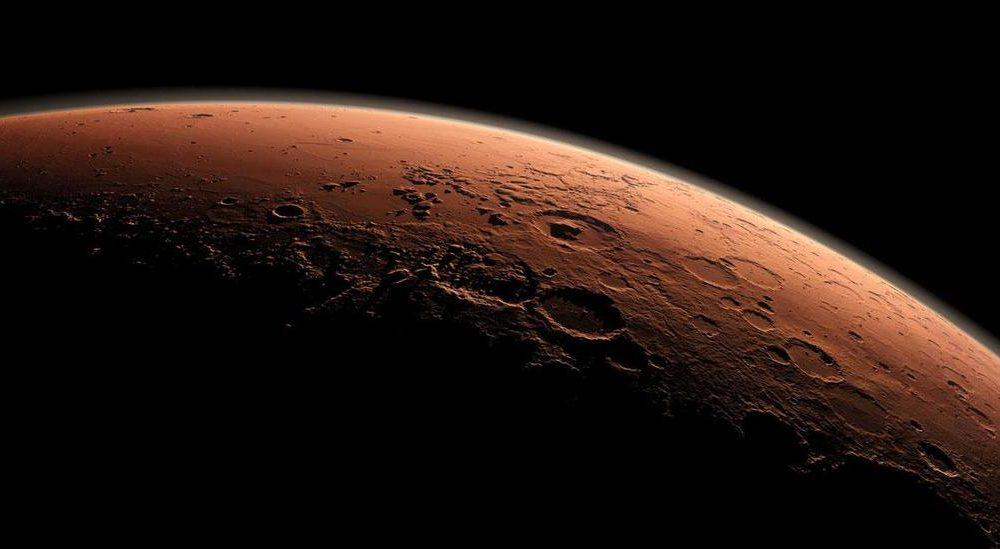 Mars magnetotail