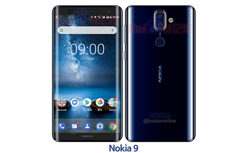 Nokia 9 is expected to launch on January 19th next year.