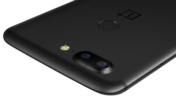OnePlus 5T has its fingerprint scanner located on the rear