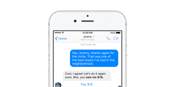 Facebook Messenger will soon let you share your PayPal invoice through it.