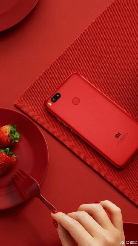 Red colored variant of Xiaomi Mi 5X looks stunning