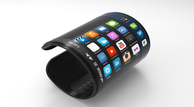 flexible screens will be one of the key features of smartphones in the future