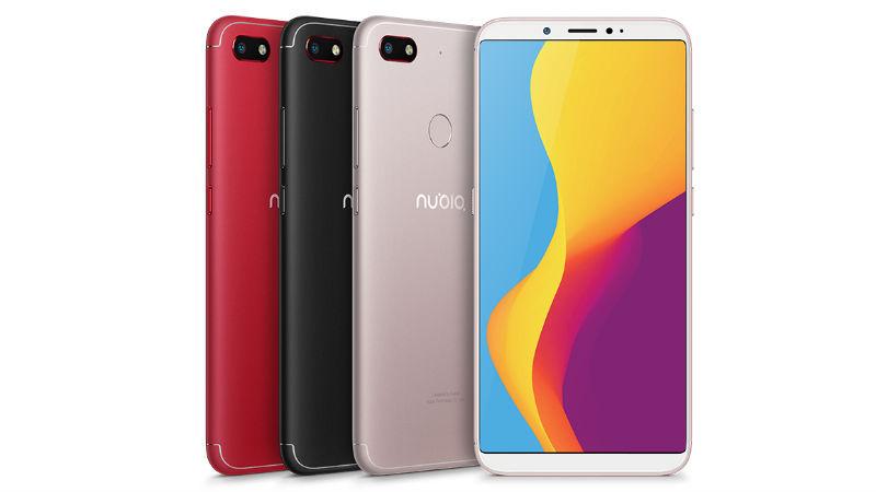 Nubia V18 midrange phone launched