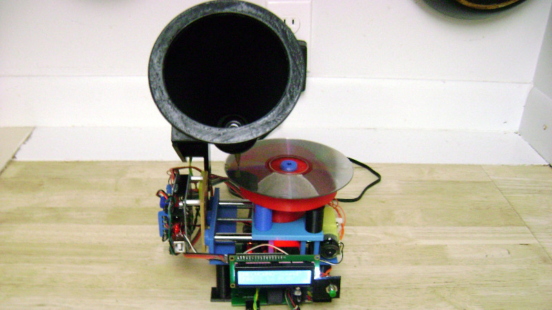 Arduino phonograph project