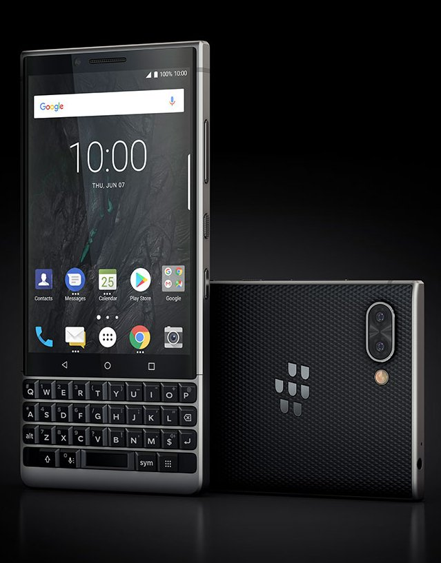 BlackBerry Key2 leaked