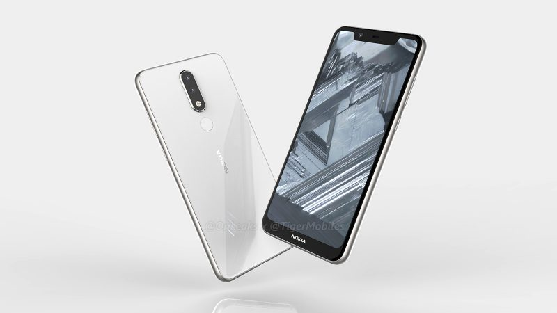 Nokia 5.1 Plus leaks
