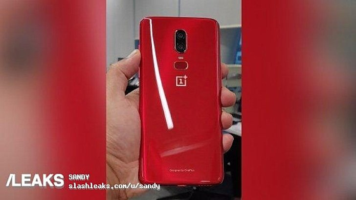 OnePlus 6 red color variant