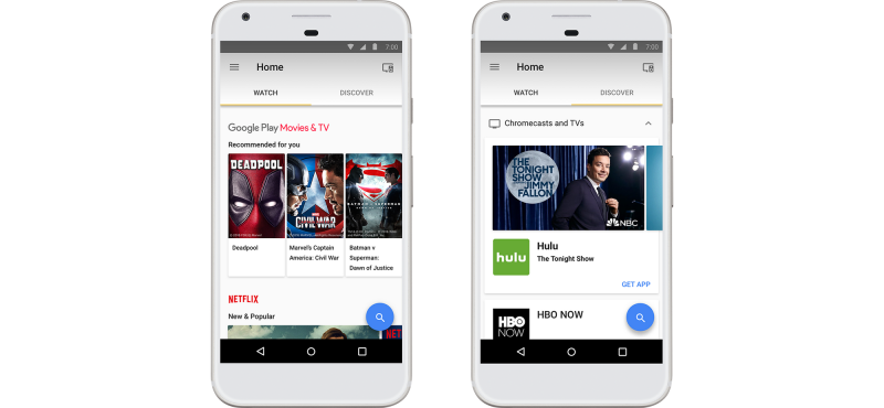 Google Home app redesign update