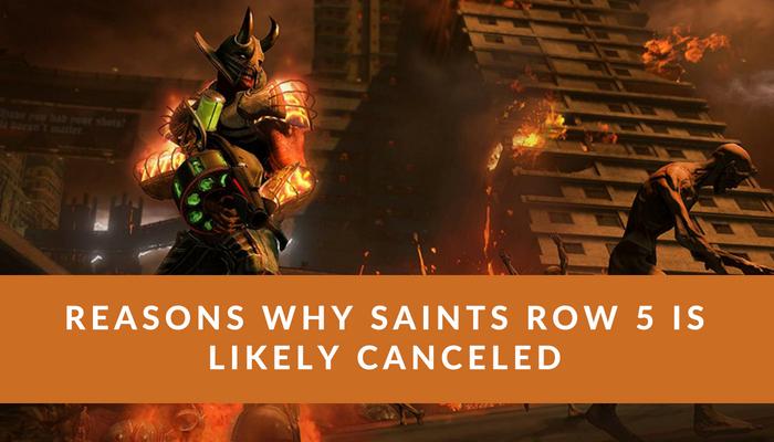 Saints Row 5 likely canceled